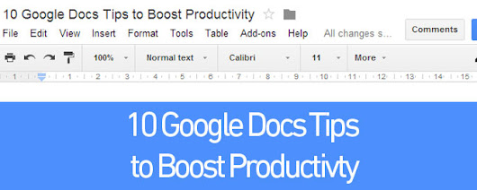 10 Google Docs Tips to Boost Productivity - Direct365 Blog