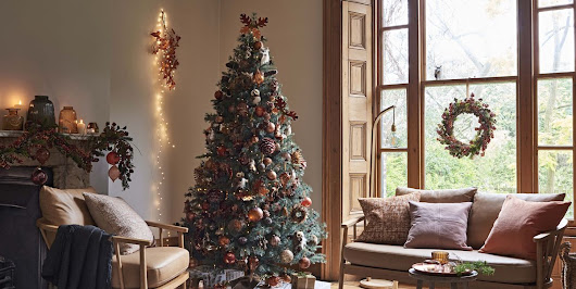 Autumn Christmas Trees - The Alternative Christmas 2018 Decorating Trend