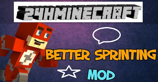 Better Sprinting Mod for Minecraft (1.9/1.8.9/1.7.10)