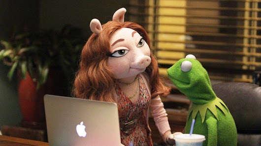 Kermit the Frog denies he has a new girlfriend, Denise, after Miss Piggy split