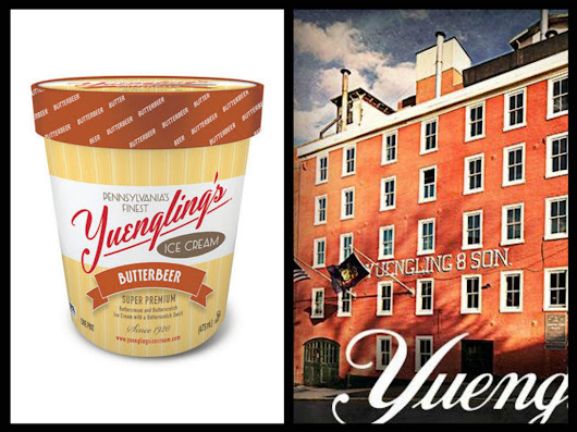 Yuengling Brewery Debuts New Harry Potter Butterbeer Ice Cream Flavor - Once Upon A Maritime