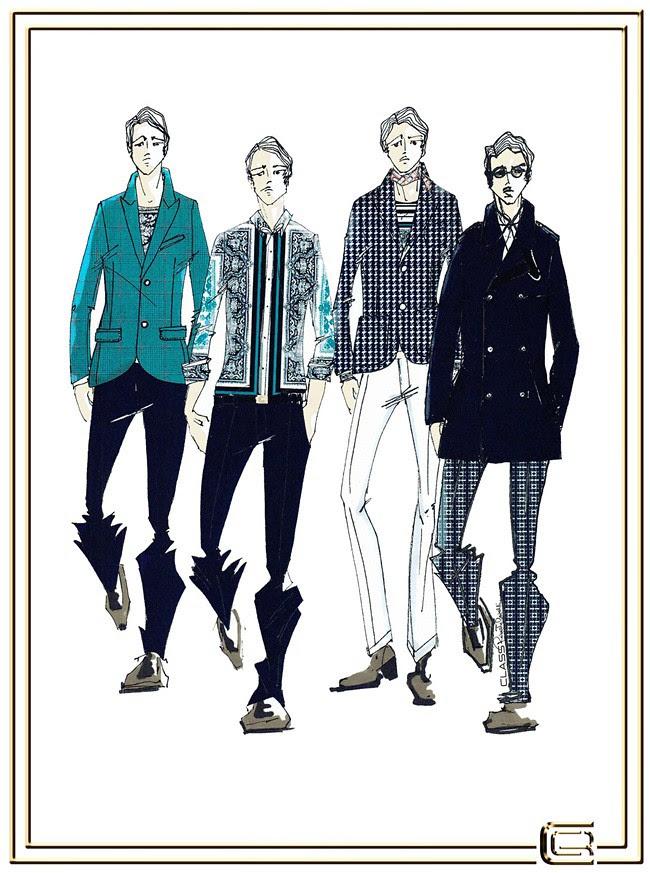 2 CLASS Roberto Cavalli Menswear SS2013 (1)