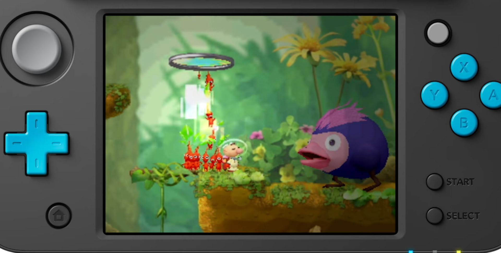 Hey! Pikmin looks decent in this overview video screenshot