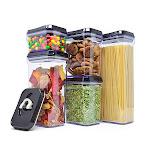 Zeppoli Air-Tight Food Storage Container Set 5-Piece