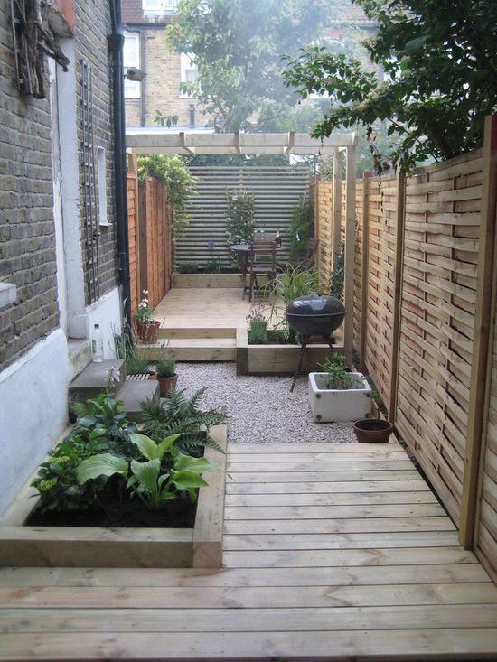 Small Narrow Garden Design Ideas