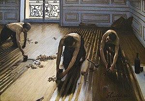 Gustave Caillebotte, Les raboteurs de parquet ...