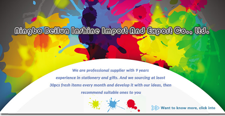 Ningbo Beilun Inshine Import And Export Co Ltd Stationery
