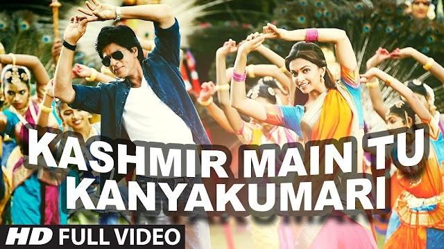 Kashmir Main Tu Kanyakumari Chennai Express Full Song | Shahrukh Khan, Deepika Padukone - Sunidhi Chauhan, Arijit Singh, Neeti Mohan Lyrics in hindi