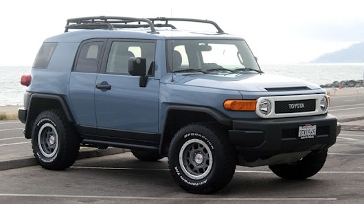 Toyota may have an off-road, FJ-inspired concept on the way