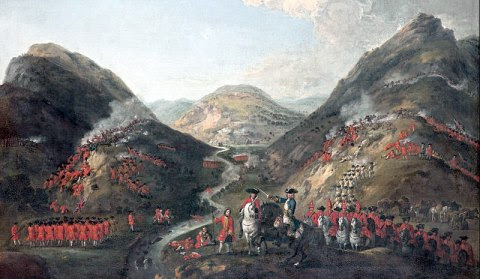 The Battle of Glen Shiel and the Second Spanish Armada, 1719
