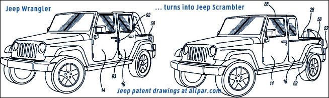 Jeep Wrangler Drawing at GetDrawings   Free download