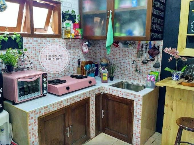 Meja Makan Dapur Dari Bata | Ide Rumah Minimalis