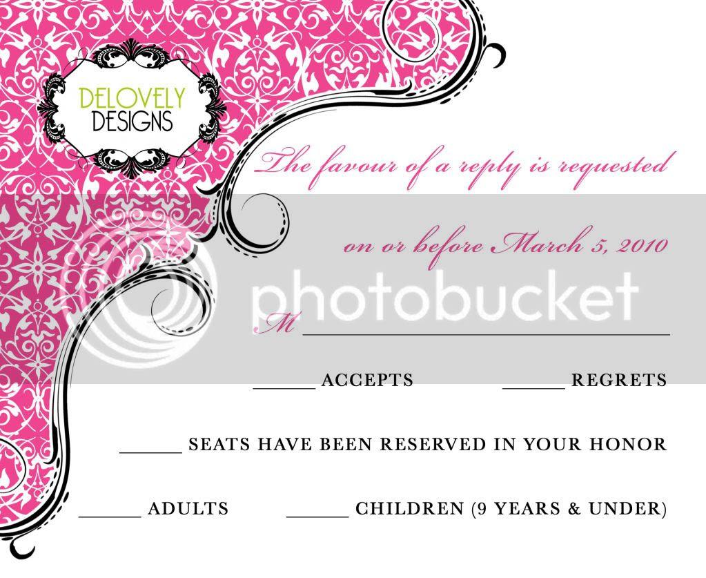 New Wedding Invitation Designs: Delovely Designs: New Wedding Invitation Design