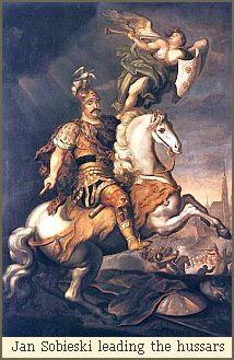 Jan Sobieski leading the hussars