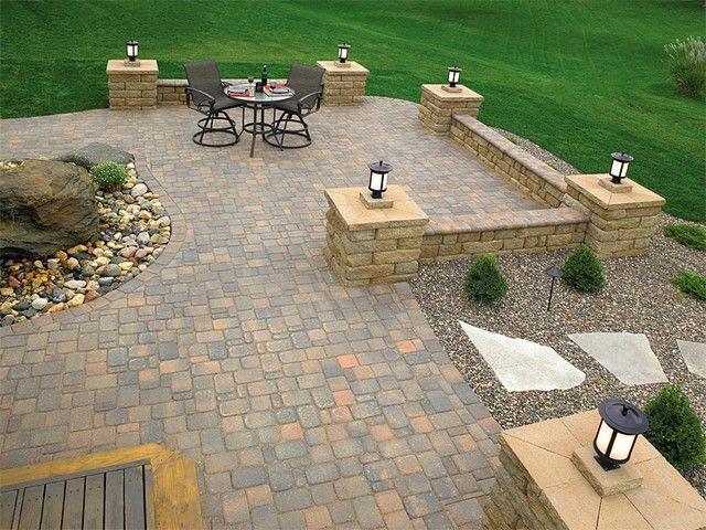 Backyard Patio Designs With Pavers | design ideas | Pinterest