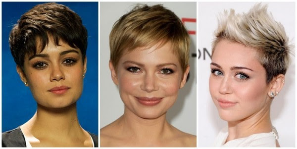 cortes de cabelo verão 2015 Corte pixie cut
