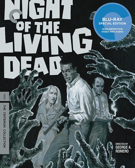 "REVIEW: GEORGE A. ROMERO'S ""NIGHT OF THE LIVING DEAD"" (1968); CRITERION BLU-RAY SPECIAL EDITION - Celebrating Films of the 1960s & 1970s"