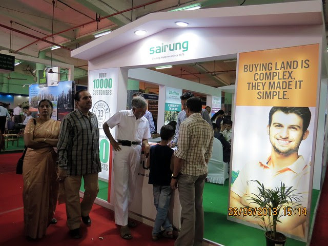 K.R.Malik Sairung - Visit Sakal Agrowon Green Home Expo, 25th and 26th May, 2013