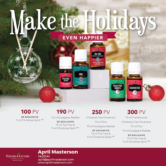 Young Living November 2017 Promotion!