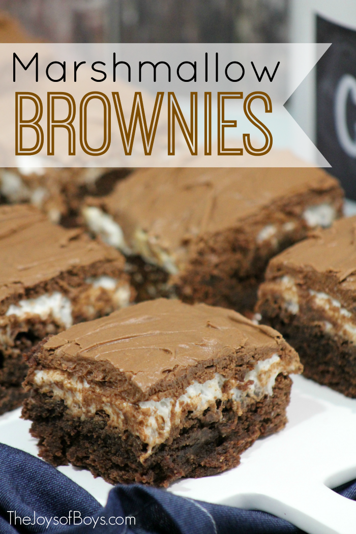 Marshmallow Brownies
