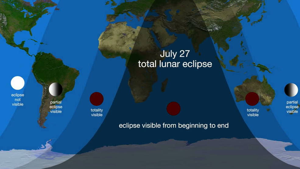 The Blood Moon Appears Today: What You Need To Know About It