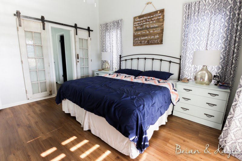 Brian & Kaylor Master Bedroom After www.brianandkaylor.com