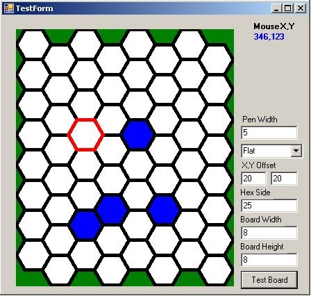 Hexagonal grid for games and other projects - Part 1 | C#