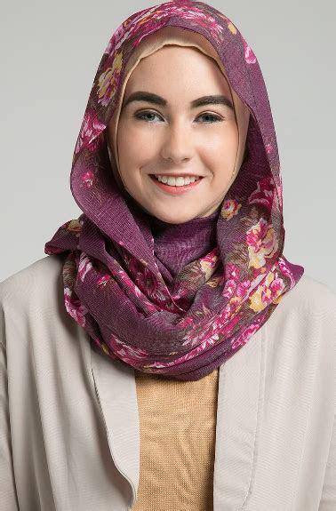 contoh foto gaya hijab modern trendy