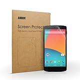 【3枚セット】Anker Google Nexus5用 保護フィルム 高い透明度と耐久性 正確なカット マット仕上げ 日本産高品質素材採用【生涯保証】