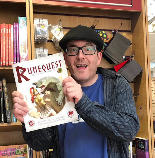 One-D-Six – RuneQuest Adventures in Glorantha QuickStart