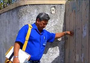 Imóveis fechados podem ter focos do mosquito da dengue (Foto: Reprodução/Inter TV Cabugi)