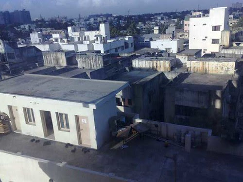 View of Chennai From Hotel Room (by Ms. Jen)
