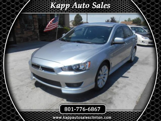 Used 2009 Mitsubishi Lancer GTS for Sale in Clinton UT 84015 Kapp Auto Sales
