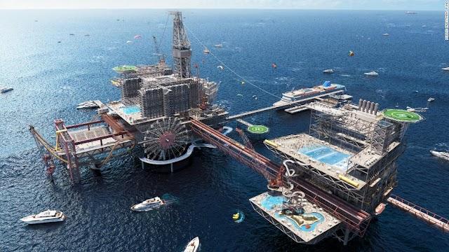Arabia Saudita lanzará un enorme 'parque extremo' con temática petrolera