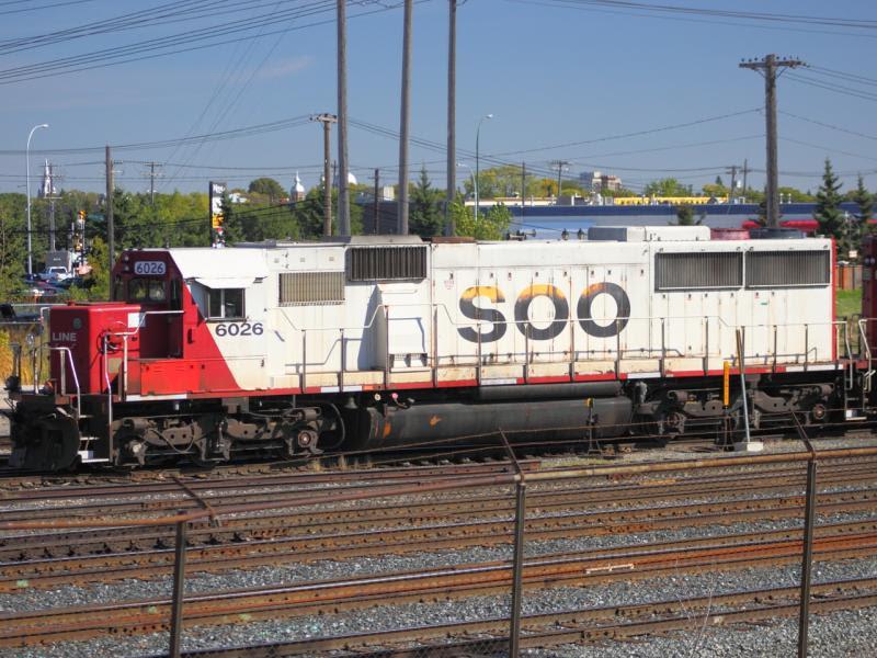 SOO 6026 in Winnipeg