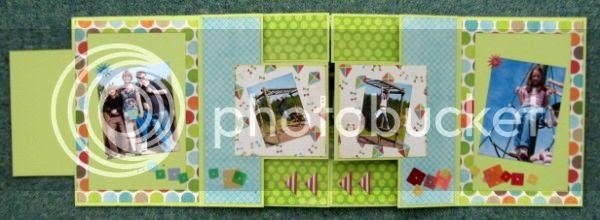 Jimjams - tri-fold mini-book - Conkers just opened