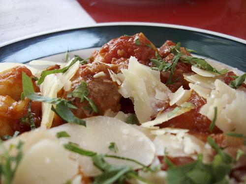 Gnocchi mit Sugo von der Salsiccia / Nordbrücke