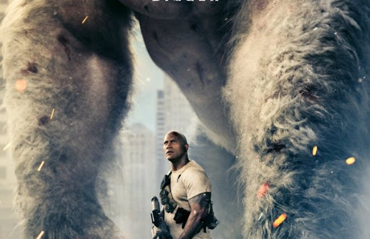 Dwayne Johnson's RAMPAGE Looks Incredible! Check Out The Trailer And Poster | FizX