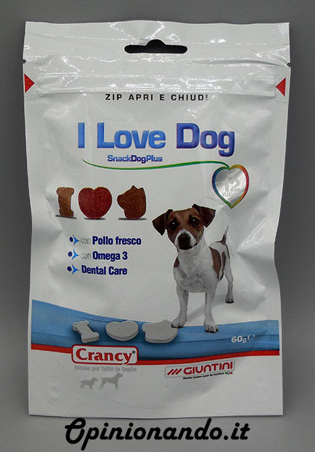 Crancy I Love Dog Recensione