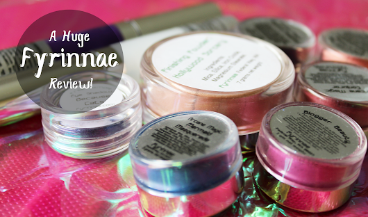 New Catagory! Ingenious Indies. This Month: Fyrinnae Cosmetics