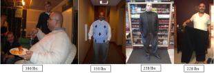 Un hombre cuenta cómo logró perder 158 libras