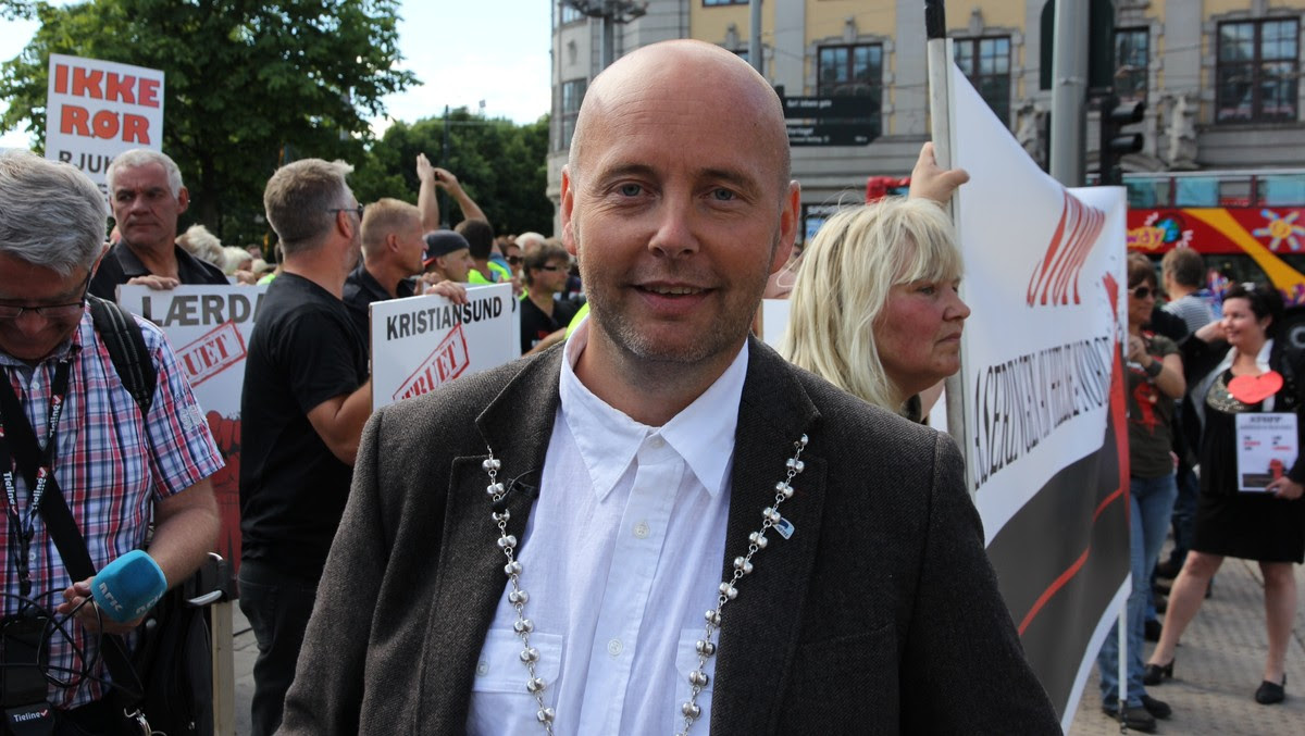 Steinar Bergsland - Foto: Lars Tore Endresen / NRK