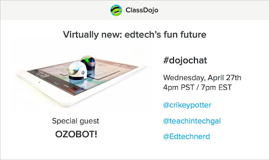 "OZOBOT on Twitter: ""Excited to be joining #DojoChat next week! So excited, we're giving away an #Ozobot! RT for a chance to win! #EdTech """