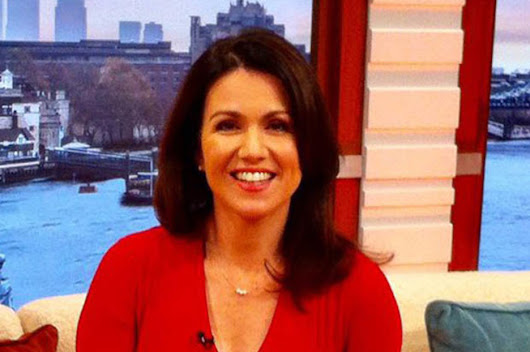 Good Morning Britain presenter Susanna Reid is ageless in sexy red dress | Daily Star