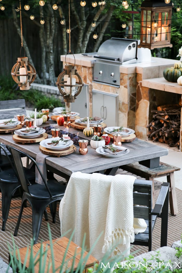 10 Steps to a Magical Outdoor Dining Table - Maison de Pax