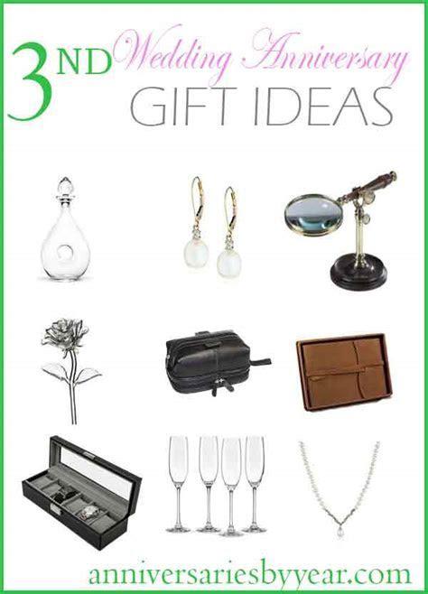 3rd Anniversary   Third Wedding Anniversary Gift Ideas
