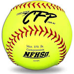 """Dudley 12"""" CFP NFHS Fastpitch Softball (Dozen)"""