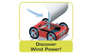 Build a sail-car run by wind power!