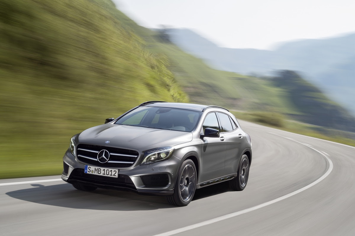 Preview: 2015 Mercedes-Benz GLA enters Small Lux Crossover ...