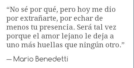 Personal Amor A Distancia Mario Benedetti Love Dreams Memories Me